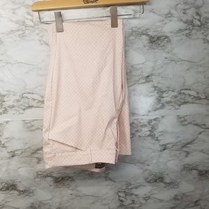 Cynthia Rowley Women's Dress Pants Sz 14 Pink Flor